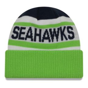 Adult New Era Seattle Seahawks Biggest Fan 2.0 Knit Hat
