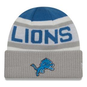 Adult New Era Detroit Lions Biggest Fan 2.0 Knit Hat