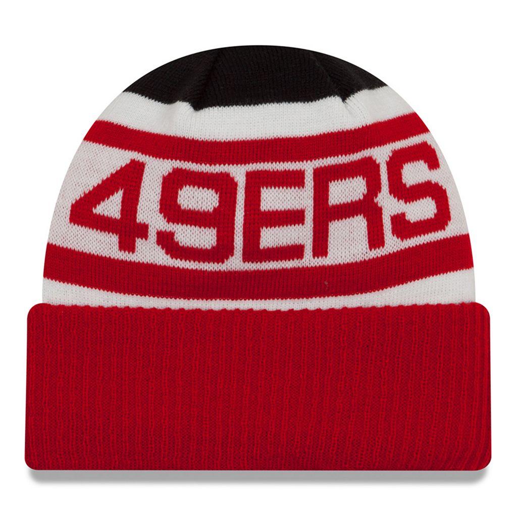 Adult New Era San Francisco 49ers Biggest Fan 2.0 Knit Hat