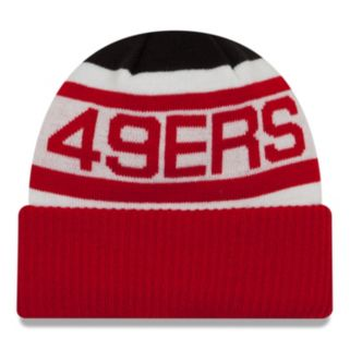 Adult New Era San Francisco 49ers Biggest Fan 2.0 Knit Hat