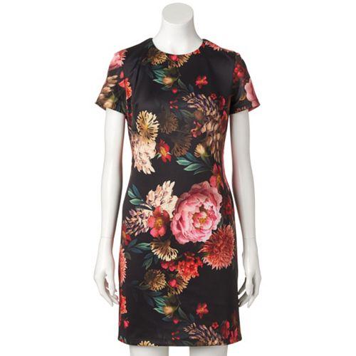 Women's M by Maia Floral Sheath Dress