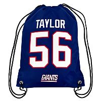 Forever Collectibles New York Giants Lawrence Taylor Drawstring Backpack