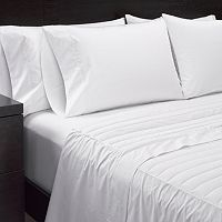 Sharper Image 2 pc 370 Thread Count Down Filled Sheet Set