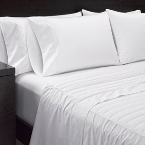 Sharper Image 2-piece 370 Thread Count Down Filled Sheet Set