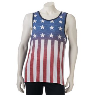 Men's Urban Pipeline® American Flag Tank Top