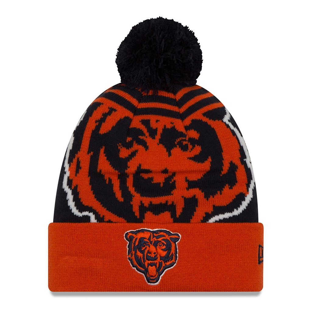 Adult New Era Chicago Bears Logo Whiz Beanie