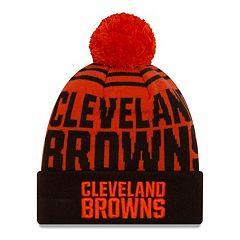 Adult New Era Cleveland Browns Logo Whiz Beanie