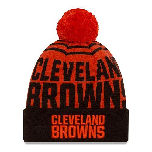 Adult New Era Cleveland Browns Logo Whiz Beanie