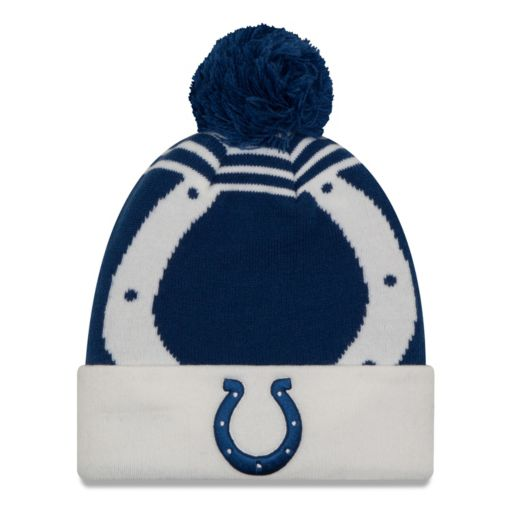 Adult New Era Indianapolis Colts Logo Whiz Beanie