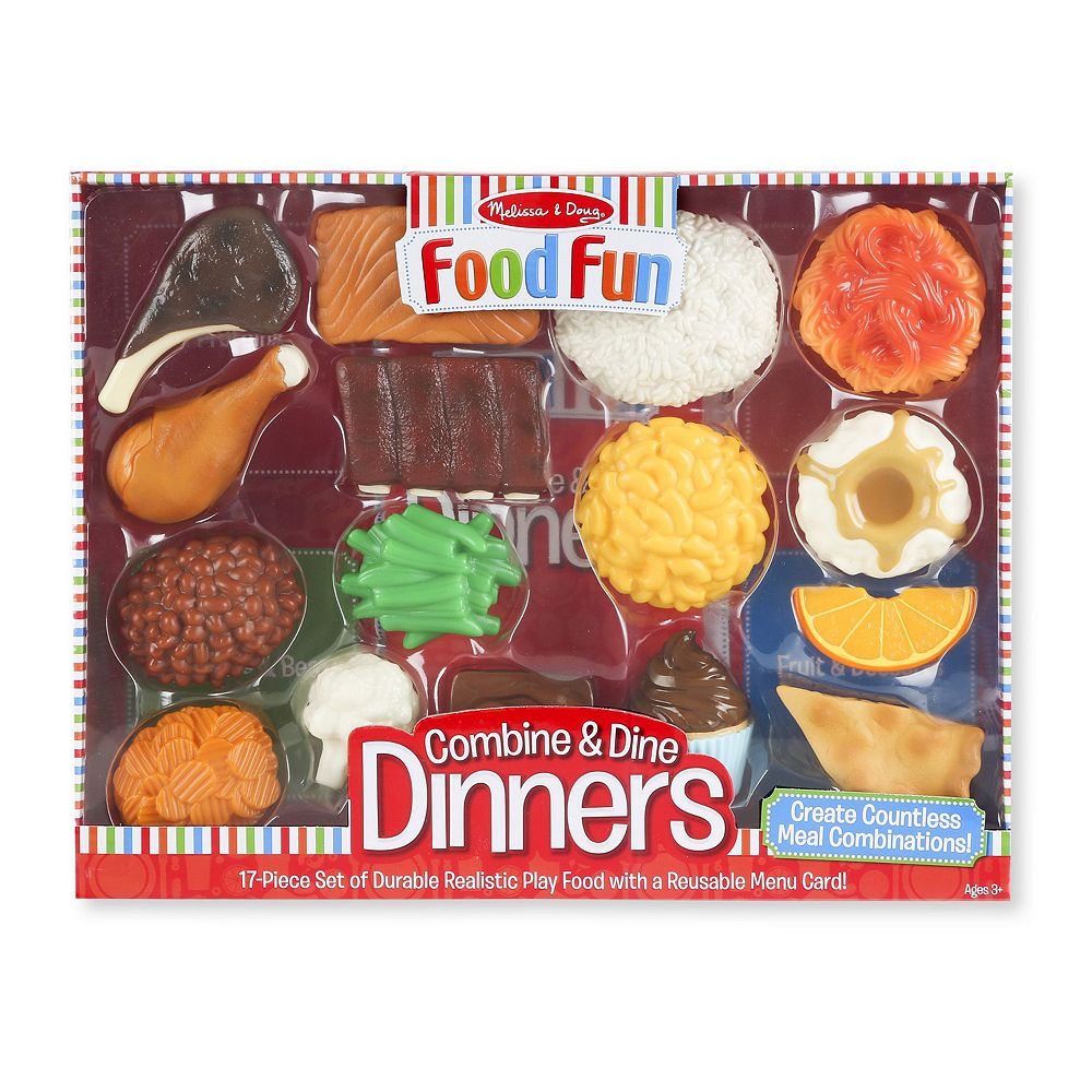 Food Fun Combine & Dine Dinners I by Melissa & Doug