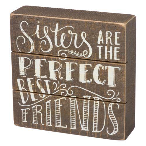 Sisters Box Sign Art