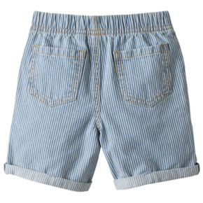 Toddler Boy Jumping Beans® Striped Roll-Cuff Shorts