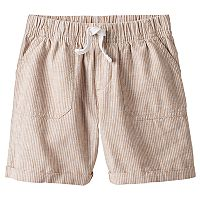 Toddler Boy Jumping Beans® Striped Roll-Cuff Khaki Shorts