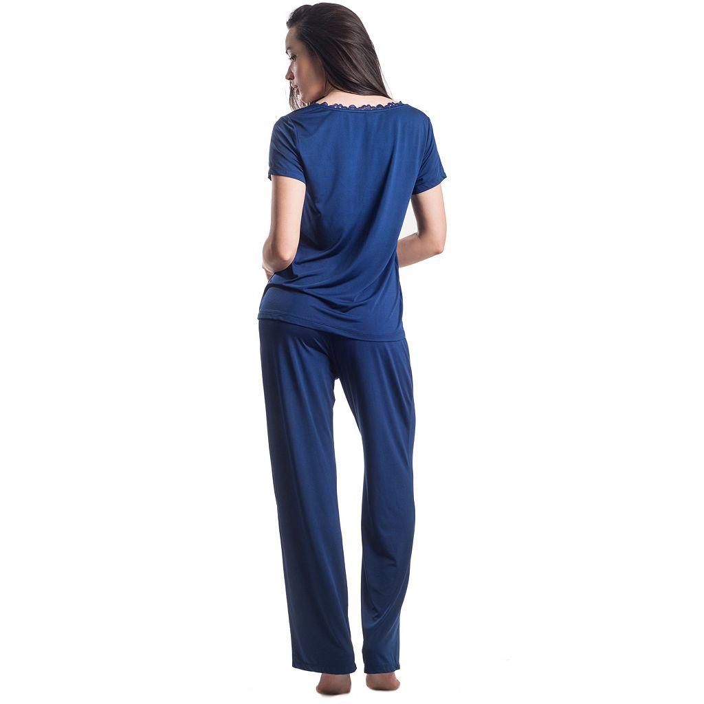 Women's Maidenform Pajamas: Sleep Tee & Pants PJ Set