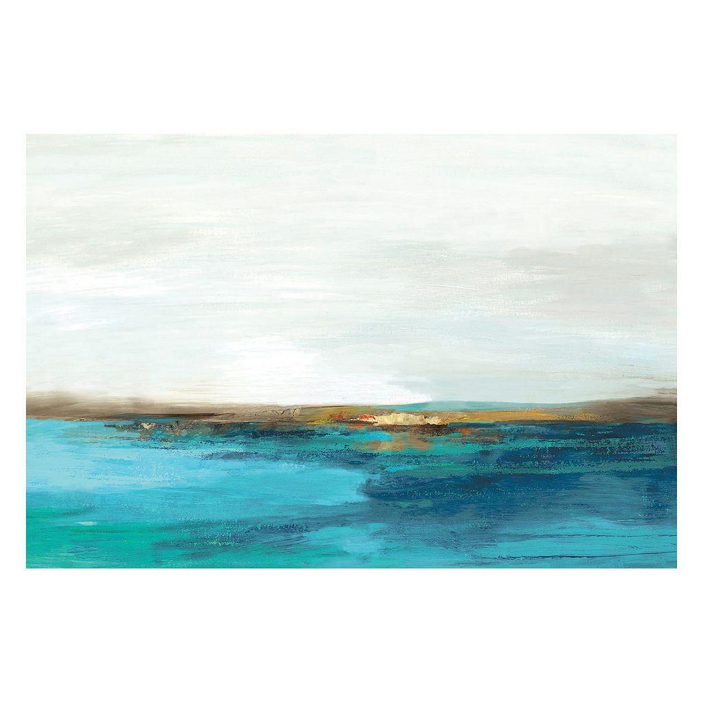 Artissimo Pastoral Landscape Canvas Wall Art