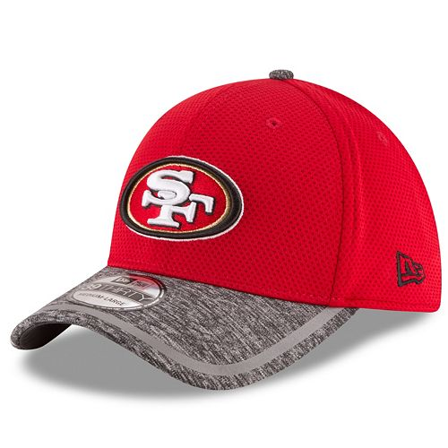 Youth New Era San Francisco 49ers 39THIRTY Training Camp Fitted Cap