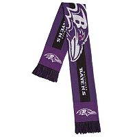 Adult Forever Collectibles Baltimore Ravens Big Logo Scarf