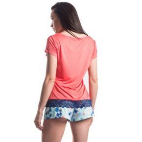 Women's Maidenform Pajamas: Sleep Tee & Shorts PJ Set
