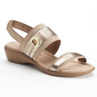 Croft & Barrow® Gladis Women's Ortholite Wedge Sandals