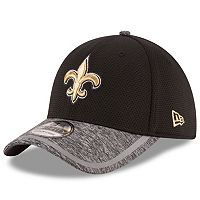 Youth New Era New Orleans Saints 39THIRTY Training Camp Fitted Cap