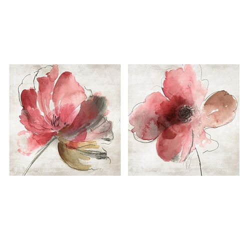 Artissimo Mary Canvas Wall Art 2-piece Set