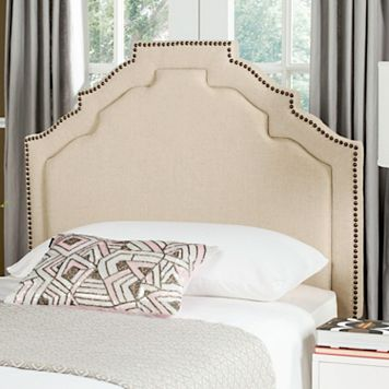 Safavieh Alexia Brass-Finish Nailhead Headboard