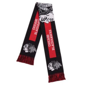 Adult Forever Collectibles Chicago Blackhawks Big Logo Scarf