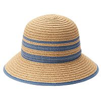SONOMA Goods for Life™ Chambray Striped Cloche Hat