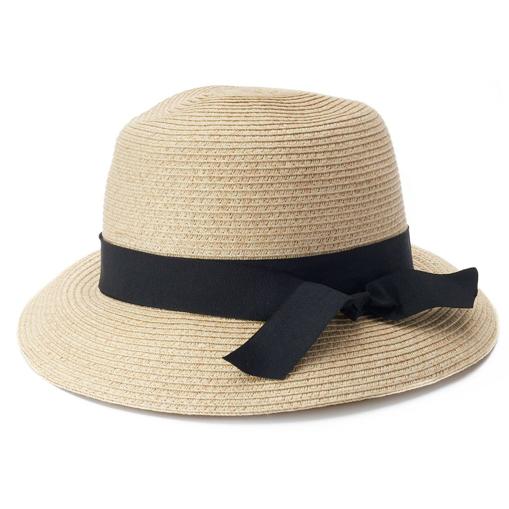 SONOMA Goods for Life™ Woven Straw Cloche Hat