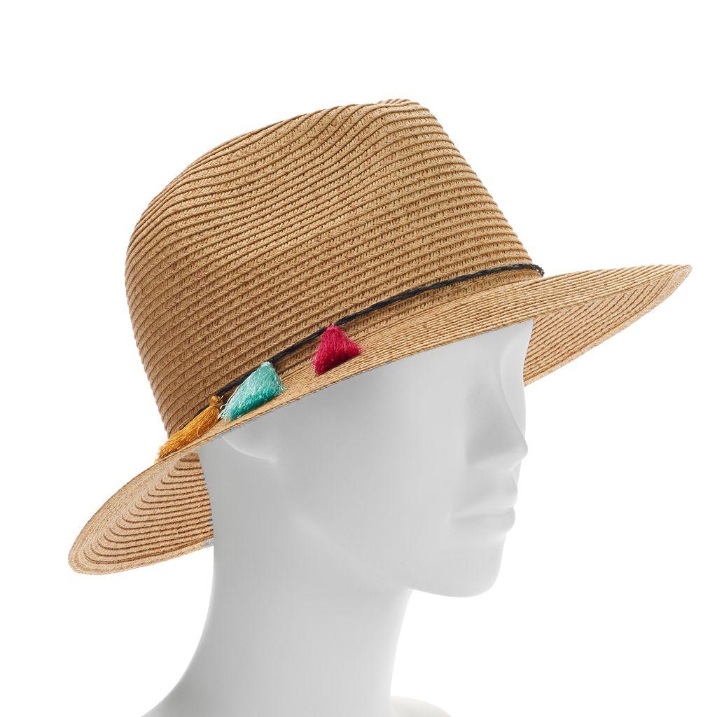 SONOMA Goods for Life™ Tassel Panama Hat