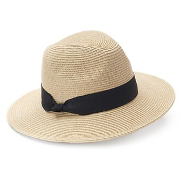 SONOMA Goods for Life™ Straw Knotted Trim Panama Hat