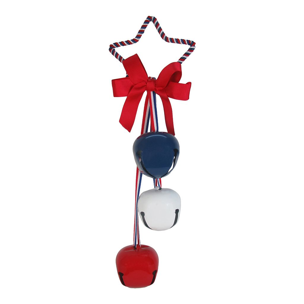 Celebrate Americana Together Iron Metal Jingle Bell Door Knocker