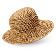 SONOMA Goods for Life™ Crocheted Straw Floppy Hat