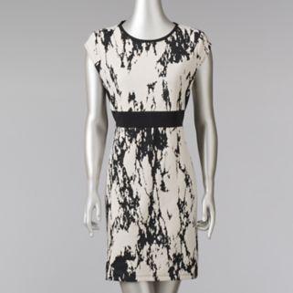 Women's Simply Vera Vera Wang Abstract Sheath Dress