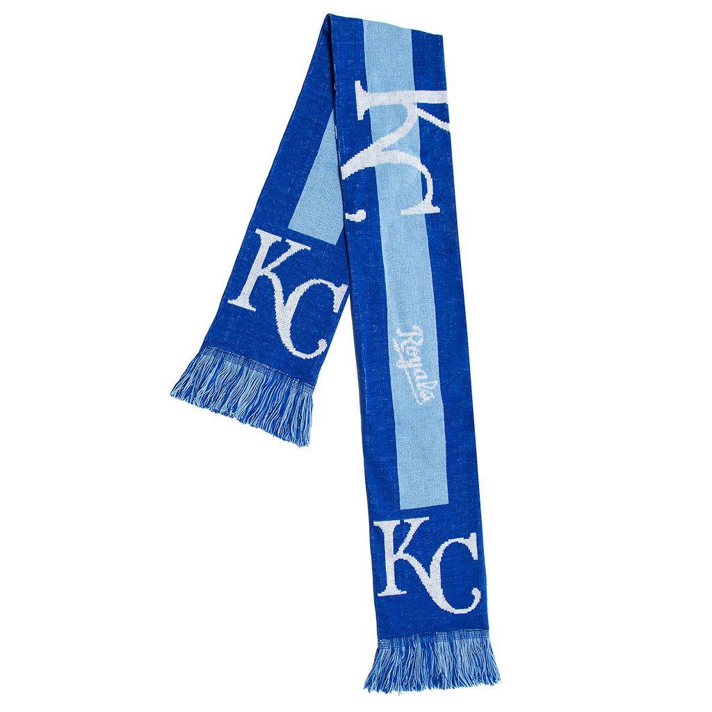 Adult Forever Collectibles Kansas City Royals Big Logo Scarf