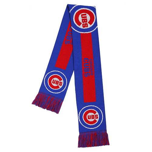 Adult Forever Collectibles Chicago Cubs Big Logo Scarf