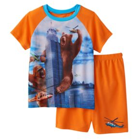Boys 4-20 Wear 4D+ Bear 2-Piece Pajama Set