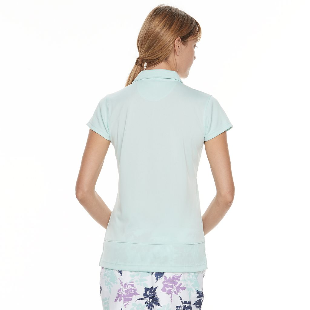 Women's Pebble Beach Vented Short Sleeve Polo
