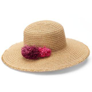 SONOMA Goods for Life™ Pom-Pom Floppy Hat