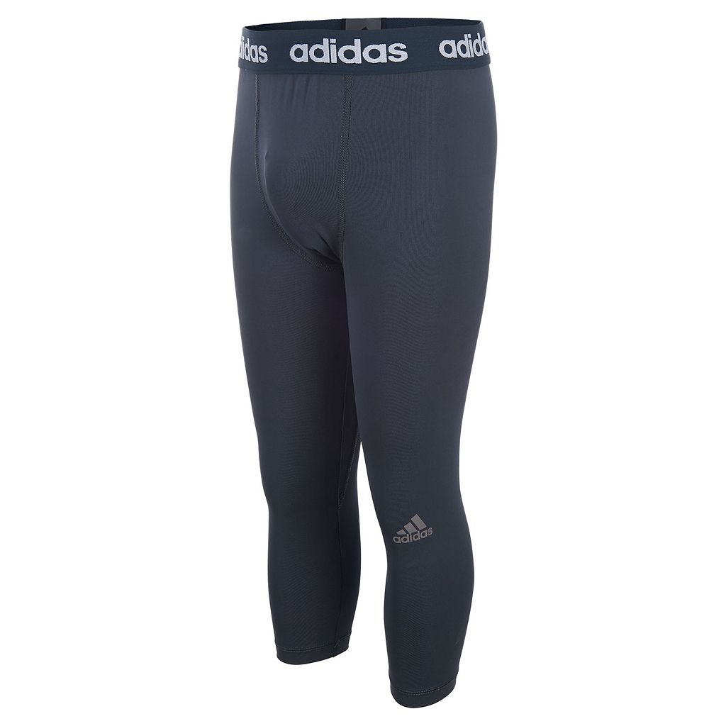 Boys 8-20 adidas Base Layer Three-Quarter Length Pants