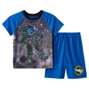 Boys 4-20 Wear 4D+ Outerspace 2-Piece Pajama Set