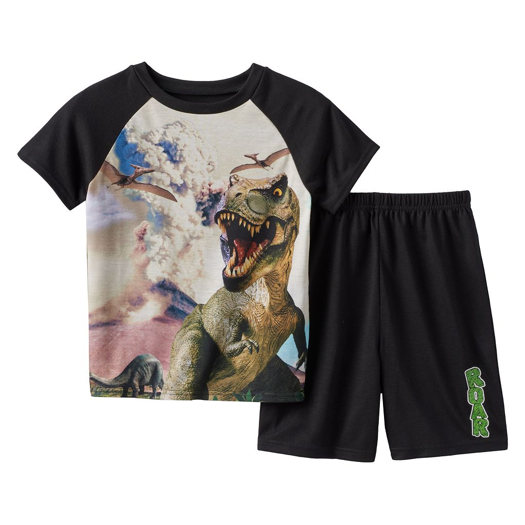 Boys 4-20 Wear 4D+ Dinosaur 2-Piece Pajama Set