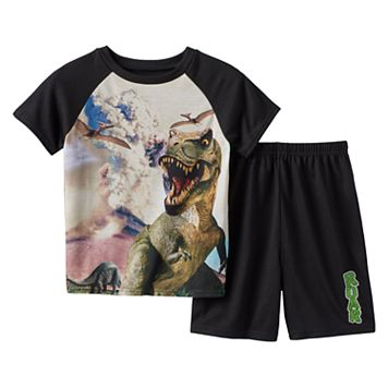 Boys 4-20 Wear 4D+ Dinosaur 2-Piece Pajama Set
