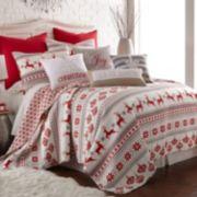 Sleigh Bells 3-piece Quilt Set