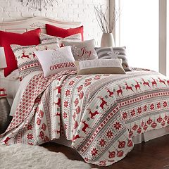 Sleigh Bells 3-piece Quilt Set