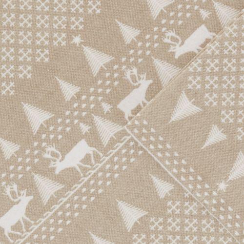 Woolrich 4 Piece Nordic Snowflake Flannel Sheet Set by Kohl's