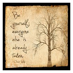 Art.com 'Be Yourself' Wall Art Print