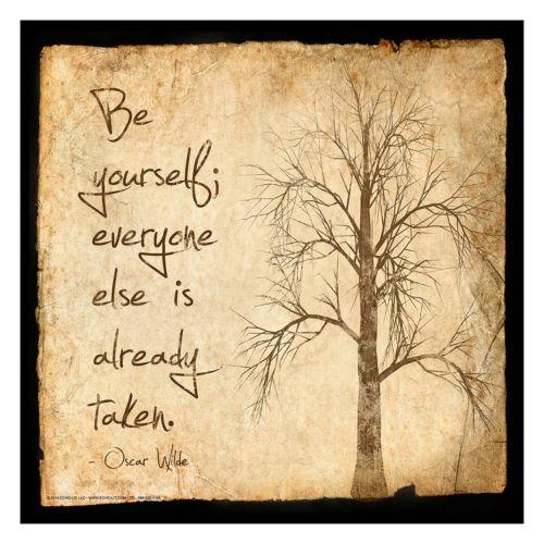 "Art.com ""Be Yourself&quot..."