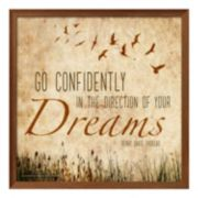 "Art.com ""The Direction Of Your Dreams"" Framed Wall Art"