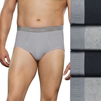2bc118c77f89c8 Big   Tall Fruit of the Loom Signature 4-pack Briefs